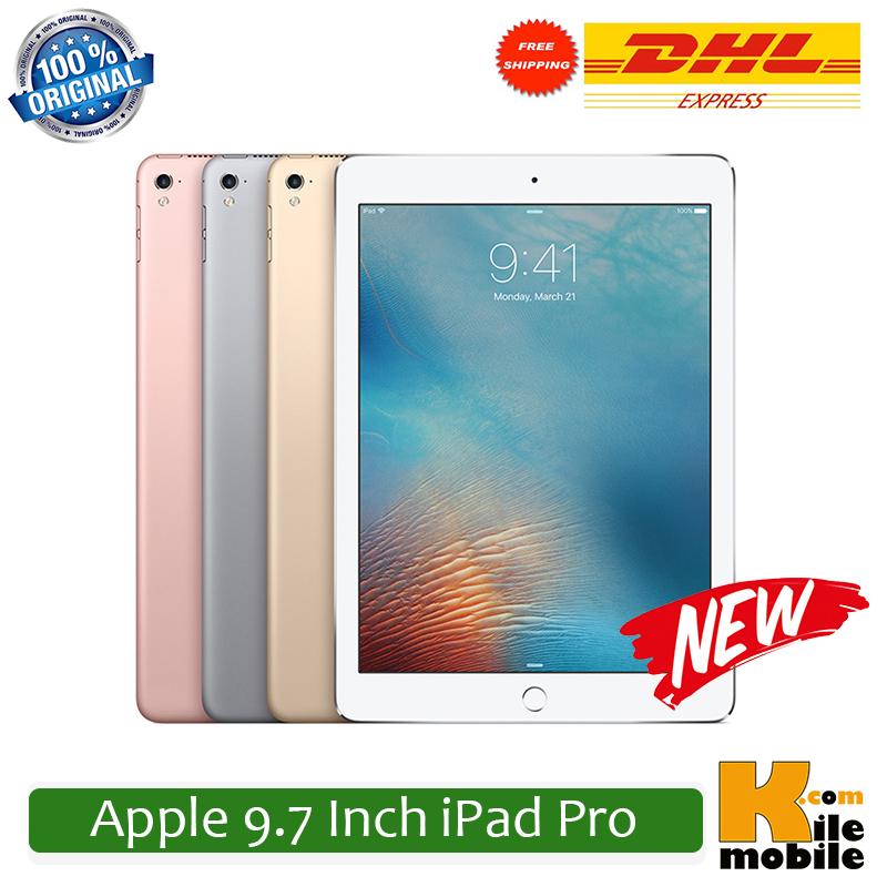 "Original Apple iPad Pro 9.7"" inch 12MP 32/128GB ROM 2GB RAM iOS 9.3 Dual-Core Fingerprint WiFi+Cellular Tablet(China (Mainland))"