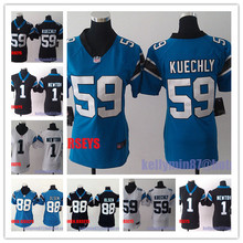 100% Stitiched,Carolina /s,Cam Newton,Luke Kuechly,Greg Olsen for women camouflage(China (Mainland))