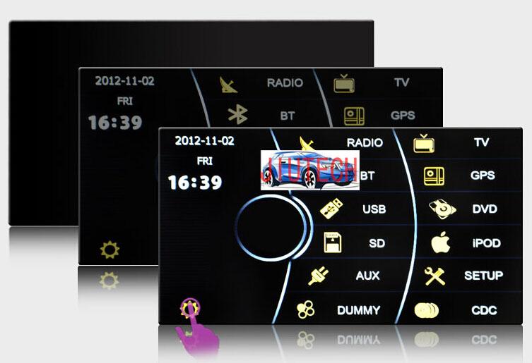Radio for Toyota RAV4 Hilux Land Cruiser Prado Camry Corolla GPS Navi Stereo DVD(China (Mainland))