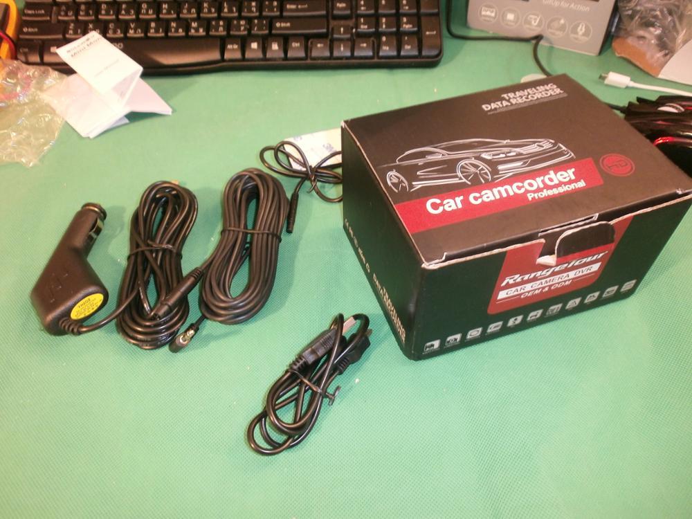 Регистратор получен,упакован хорошо,проверен и протестирован работает хорошо,длинна кабелей с запасом,продавца рекомендую 5+++++!
