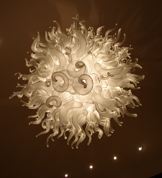 LED Lighting Hand Blown Glass Art Murano Chandelier in
