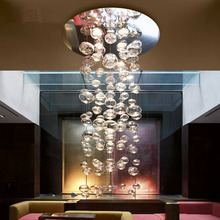 Modern Europe 5w crystal chandelier ceiling fixtures flush mount GU10 halogen bulb chandeliers crystal 70cm/100cm/150cm for home(China (Mainland))