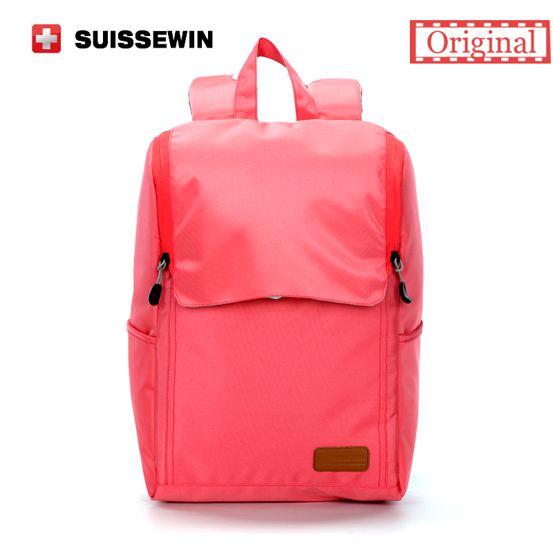Suissewin Fashion Women Casual Daily Backpack High Quality Small Shoulder Bag for Teenage Girls Pink SN2013K sac a main <br><br>Aliexpress