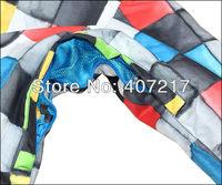 Qualität waren Херрен regenbogen quadratischen растровые сноуборд куртки многоцветной boxen skijacke männer skibekleidung wasserdicht atmungsaktiv warme