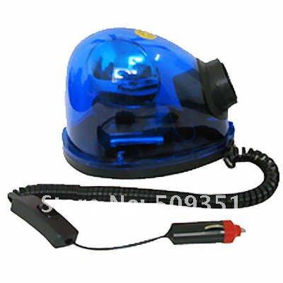 new 12 v auto urgence avertissement r cup ration renouvelable rotation bleu beacon light dans. Black Bedroom Furniture Sets. Home Design Ideas