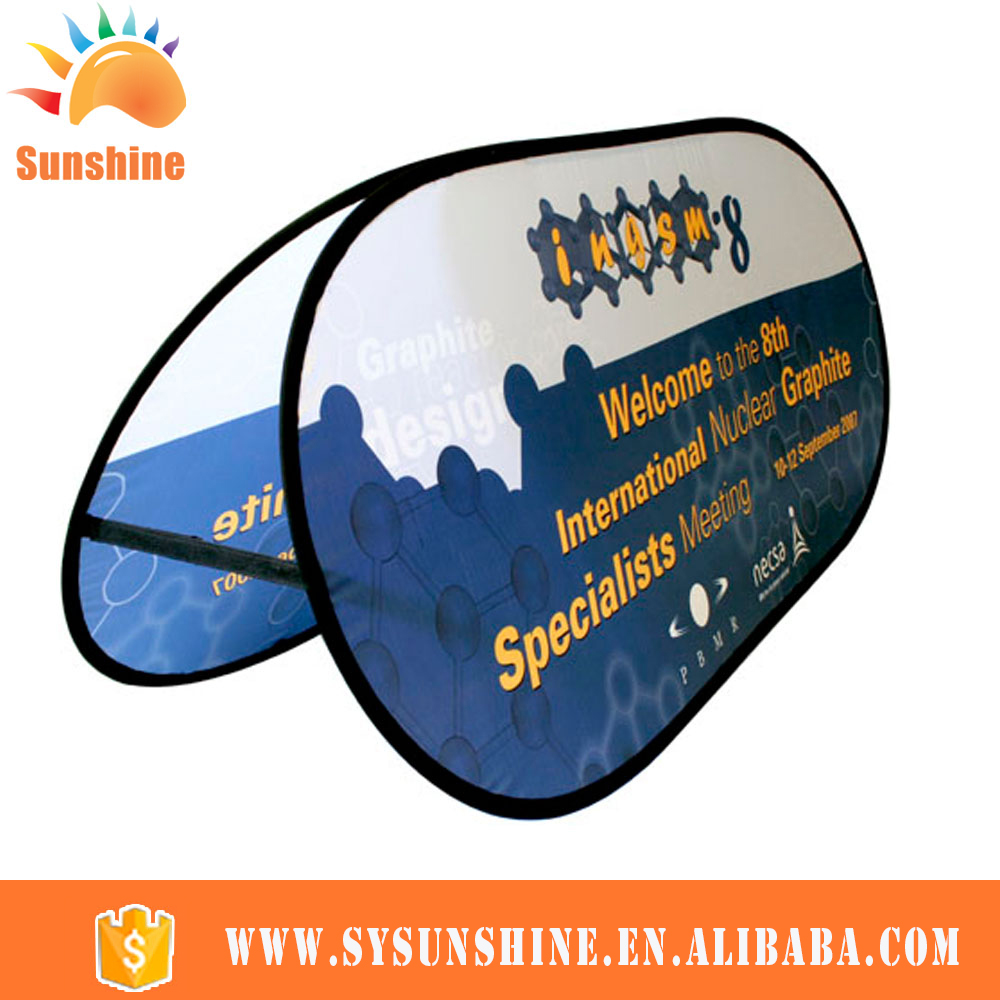 Full color high quality cheap custom printing roll up pop up a frame banner/flag(China (Mainland))