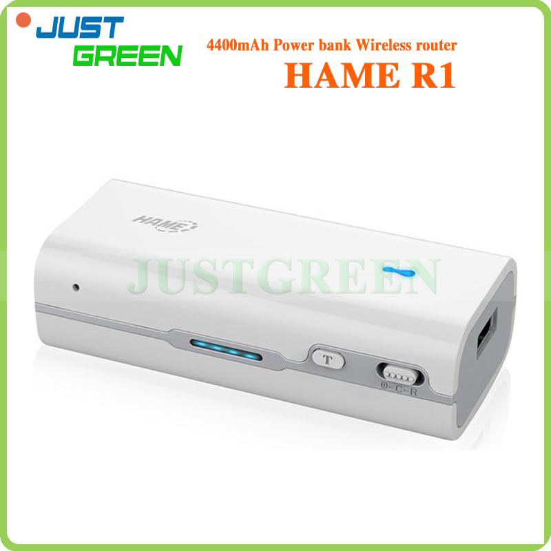 HAME R1 3 in 1 150Mbps Portable 3G WiFi Router Power Bank And MINI 3G WIFI Router Free Shipping(China (Mainland))