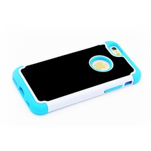 YooType anti gravity for Iphone 6s case with soft touch TPU material smooth place available for absorption blue