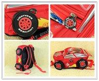 Детские автомобили мешок школы/детские мешок Рюкзаки милые дети рюкзак школьный ранец новый