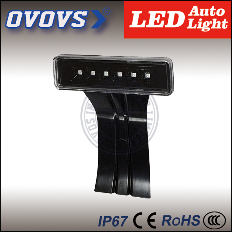 High performance 6w US&Europe auto parts 6w led brake/tail light for je-ep wran-gler(China (Mainland))