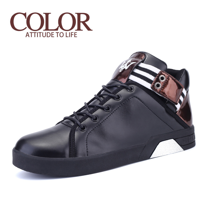 2016 New Spring And Summer Fashion Outdoor Leisure Shoes Thick Crust Tide Boys Love Loafers Shoes Size 39-44 Size