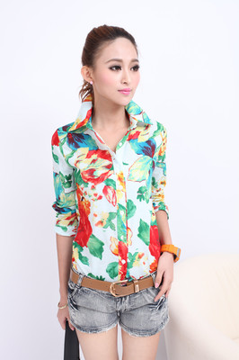 T shirts long sleeve stand up collar women s slim casual for Stand collar shirt womens