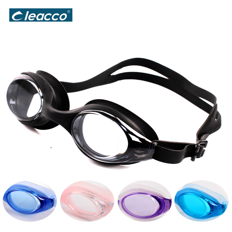 Silicone Professional Men Women Swimming Optical Goggles Waterproof Anti-fog Swimming Prescription Glasses With Diopter(China (Mainland))