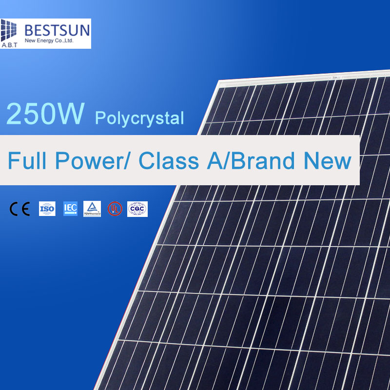2016 Hot sales cheap price solar panel Best price Poly Solar Module 250W with High Efficiency(China (Mainland))