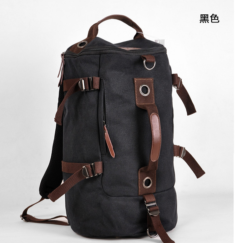 Wholesale Designer Cool Canvas Backpack Men Travel Bag Shoulder ...
