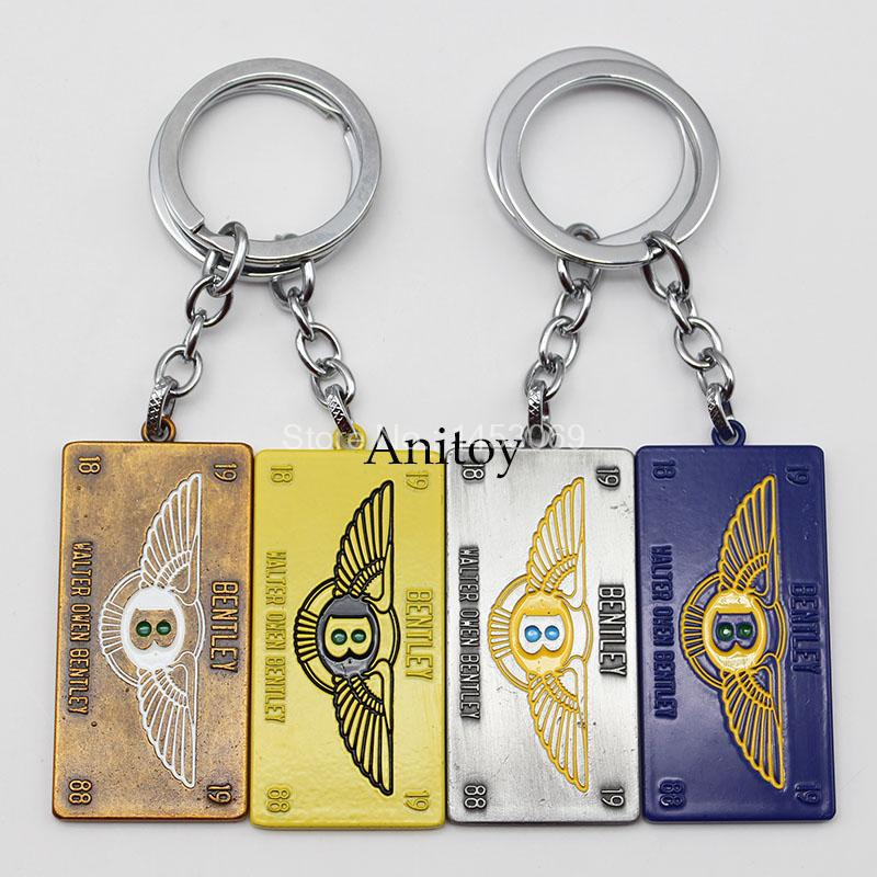 bentley Keychain Metal Key Chain Pendant Keyring Key Ring For Men Women Chaveiro KT3010(China (Mainland))