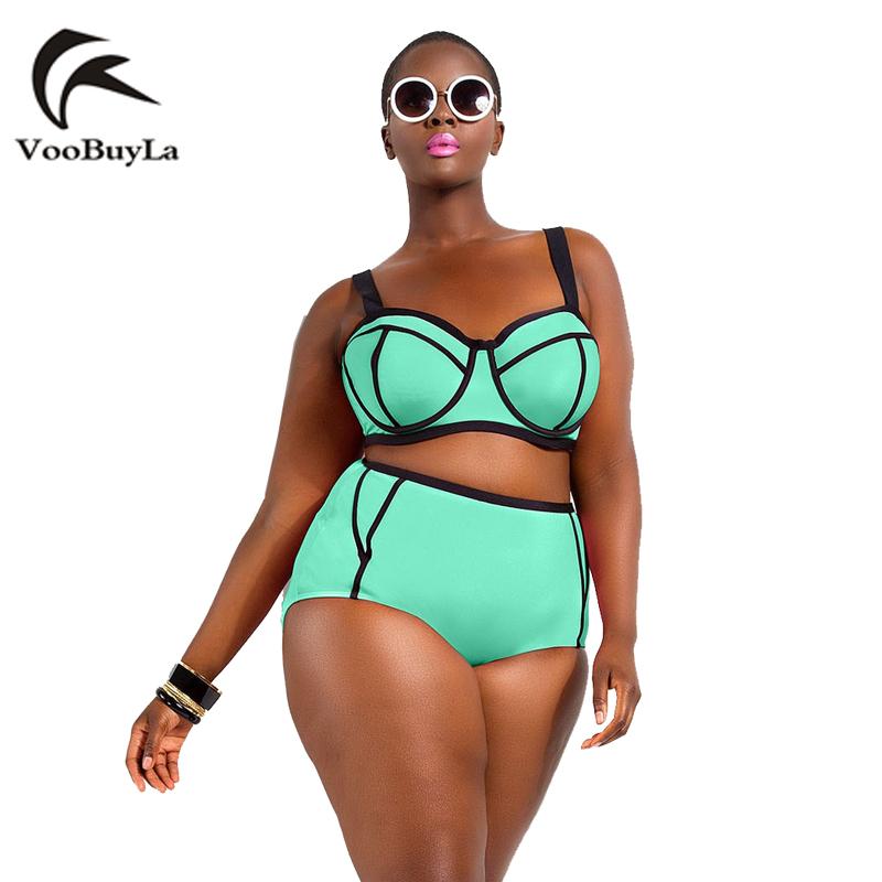 Voobuyla Swimwear Woman 2016 New Summer 2016 Fashion Bikinis Sexy Dew Belly Show Thin Swimsuit Push Up Bikini Set Bathsuit(China (Mainland))