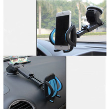 Car Phone Holder For Iphone 6 5s 6s/Lg G5/Xiaomi Mi Max Mi5 Suction Cup Soporte Celular Para Auto Windshield Mount Stand Bracket(China (Mainland))