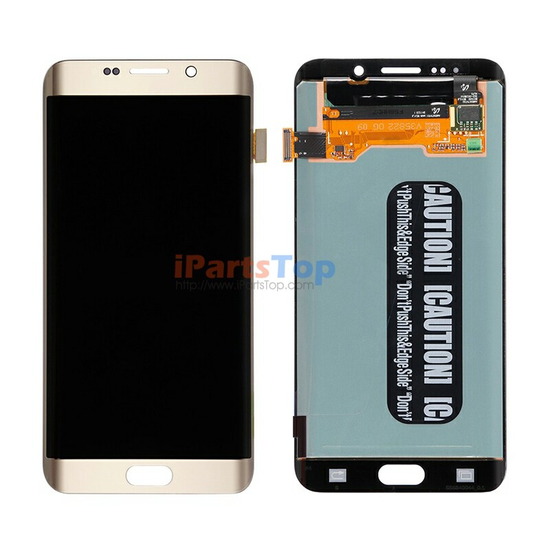Original Genuine White/Blue/Gold/Silver LCD Screen Display With Digitizer Assembly For Samsung Galaxy S6 Edge Plus G928 By DHL(China (Mainland))