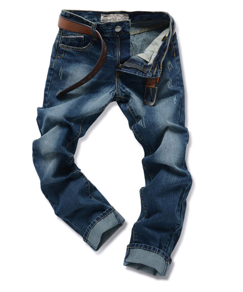 2016 Famous Fold DSQ Jeans Men Ripped Brand Biker Overalls Pants Skinny Slim Elastic Disel Straight(China (Mainland))