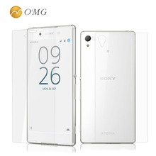 Buy OMG Front+Back Sony Xperia Z3 D6603 D6643 D6653 D6616 D6633 L55 Tempered Glass Screen Protector phone case Film for $1.46 in AliExpress store