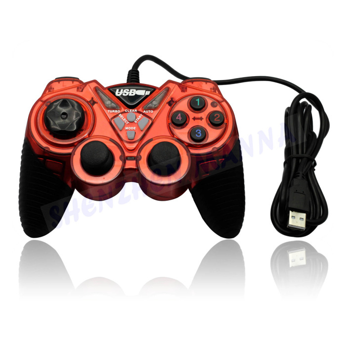image for 2016 Real Selling Usb Gamepad Double Shock Joystick Controllers For Wi