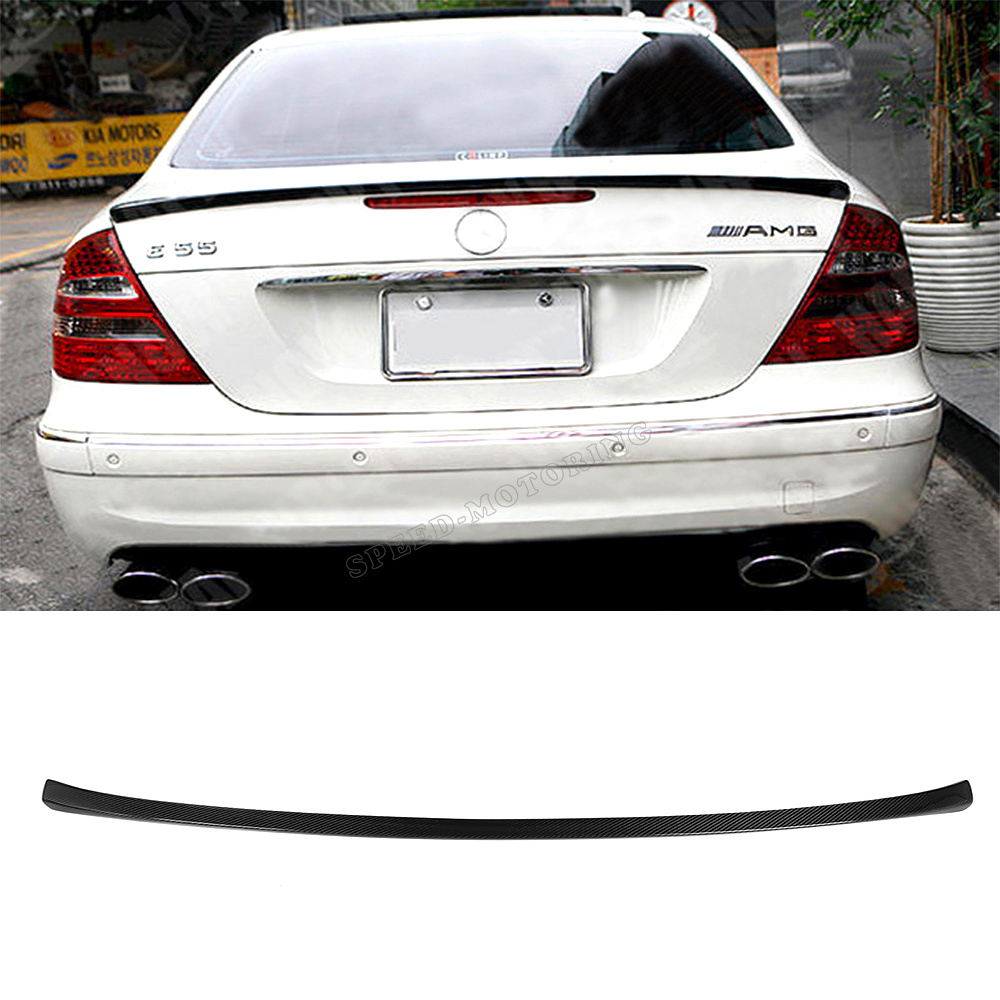 Carbon Fiber W211 MKB styling car rear trunk spoiler for ben z,auto trunk carbon wing for W211(China (Mainland))