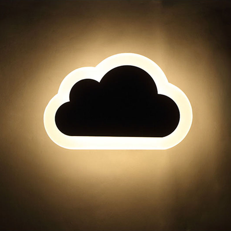 Cloud Minimalism Sconce Lights Modern Led Wall Lights For Bedroom Foye 8W AC85-265V Hardware+Acrylic Home Sconce Wall Lamp от Aliexpress INT