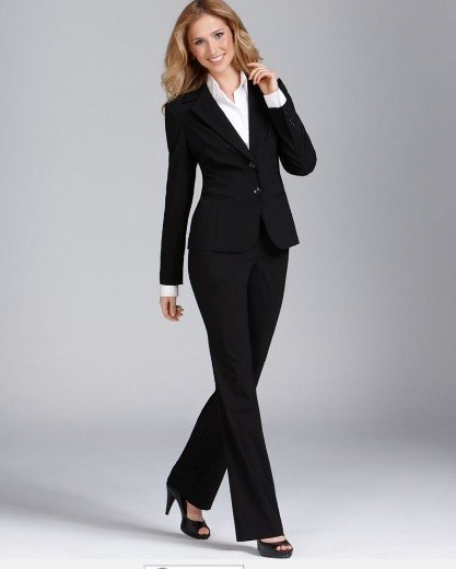 2017 Black Women Suit Women Business Suit Women Desinger Suit