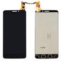 100 New Black LCD Display Touch Screen Digitizer Assembly For Alcatel One Touch Idol X 6040