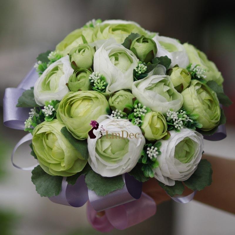 20 rose, brautstrauss, künstliche blumen hochzeit blumen Brautstrauß ...