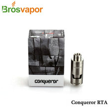 New Arrival Original Wotofo Conqueror RTA Electronic cigarette Atomizer 4 0ML tank top fill adjustable air