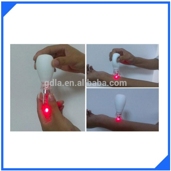 LASPOT health and medical home use laser acupuncture massage and relaxation portable lllt laser therapy(China (Mainland))