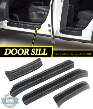 Door Sill For Volkswagen Tiguan 2011-2012-2013-2014-2015 Car Decoration Styling Molding A ccessories Plastic ABS