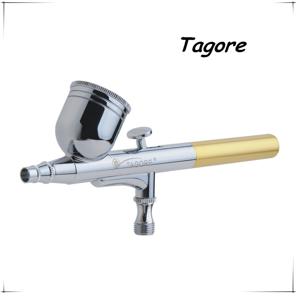 Tagore TG470(20PCS) New Fashion Professional Gravity Feed Dual Action 7CC 0.3MM Temporary Tattoo Airbrush Gun<br><br>Aliexpress