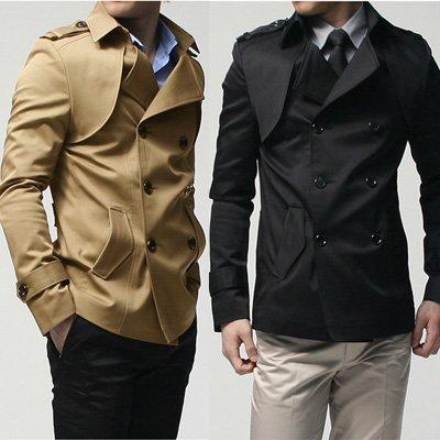 Short Trench Coat Mens