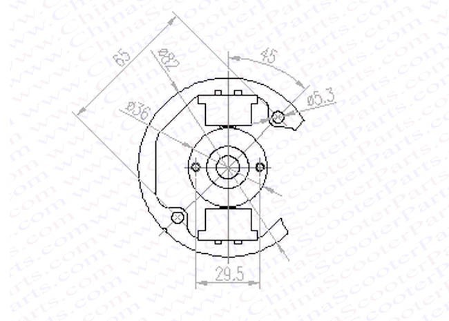 ktm 50 sx ktm50 ignition stator coil kit 50sx