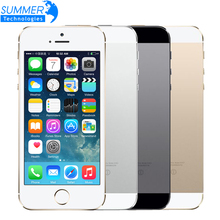 "Buy Original Unlocked Apple iPhone 5S Mobile Phone iOS A7 4.0"" 8MP IPS HD GPS 16GB 32GB ROM Used Cell Phones iPhone5s for $116.24 in AliExpress store"