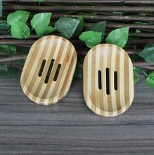 Natural Handmade Bamboo Soap Box. FH-10234(China (Mainland))