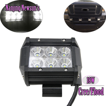 Buy 18W Cree Chips LED Work Light Lamp Road ATV 4x4 Tractor 18W Square flood Light-Cabin/Boat/SUV/Truck/Car/ATVs Driving Light for $15.00 in AliExpress store