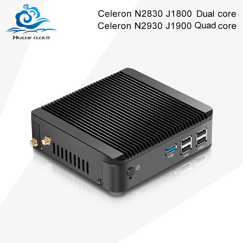 Factory Mini PC X30 2830 J1800 2930 J1900 HDMI+VGA, USB3.0, j1900 mini pc linux mini computer Metal Fanless, win7, win8, LlINUX(China (Mainland))