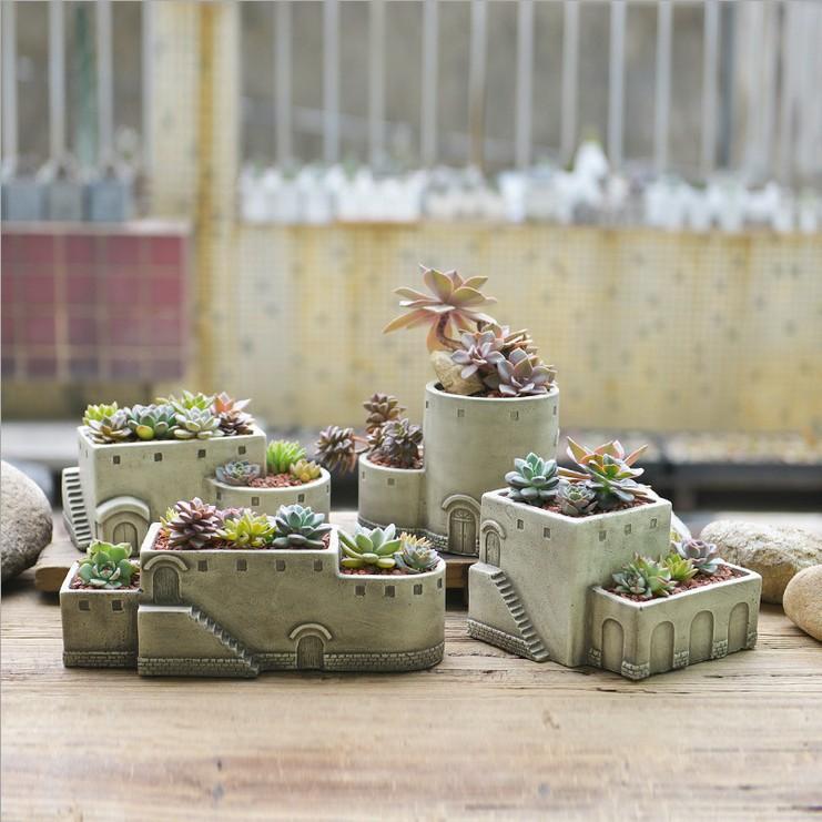 achetez en gros ciment pots de fleurs en ligne des grossistes ciment pots de fleurs chinois. Black Bedroom Furniture Sets. Home Design Ideas