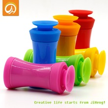 FREE SHIPPING Silicone & Ceramics Seasoning Cans Kitchen Condiment Box Assembly Sets Home Canister Spice Bottle Cruet(China (Mainland))