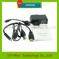 mk808b android 4 мини-pc tv box rockchip rk3066 двухъядерный 8 ГБ ПЗУ wifi hdmi ТВ-тюнер с blueetooth