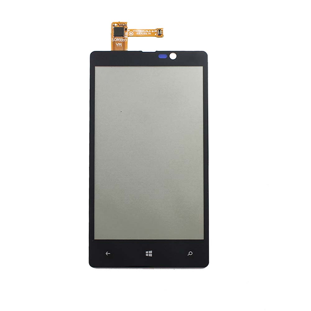 10pcs N820 Tested Original Front Touch Screen Digitizer Glass Lens For Nokia Lumia 820 N820 4.3