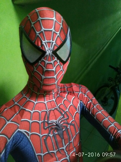 raimi spiderman eye lenses spiderman cosplay halloween