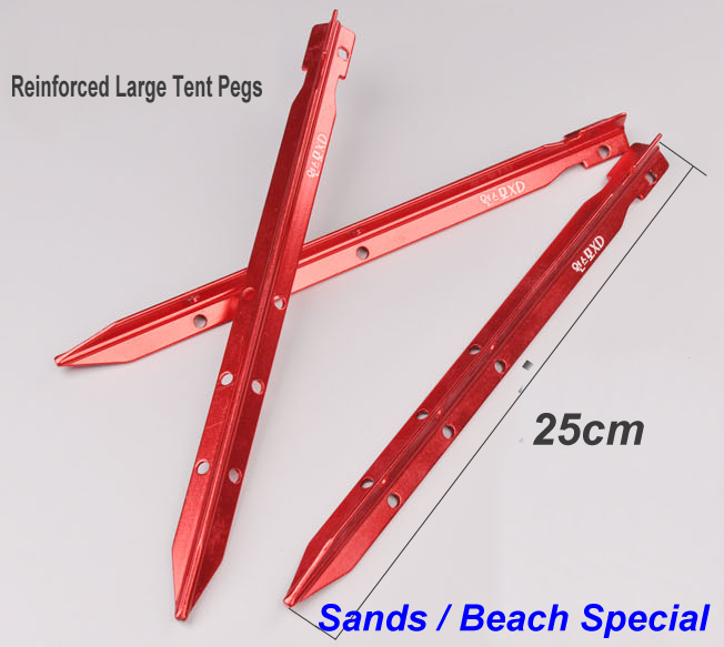 aeProduct.  sc 1 st  DHgate.com & Wholesale 25cm Aluminium Heavy Duty Sands Beach Strong Tent Pegs ...