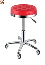 Office Computer stretch rotating Ajustable Wheel Hairdressing Makeup Salon Chair Cover barber(China (Mainland))