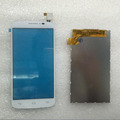 New 5 0 White Touch Screen Digitizer Glass Sensor LCD Screen For Alcatel one touch pop