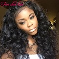 Lace Front wigs for black women 150 density human hair wig with Bangs Silk Top Glueless Full Lace wigs virgin Brazilian hair